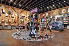 Guitar Store, Stationary, Gym Equipment, Basketball Court, Bike, Shops, Business, Music, Cafes