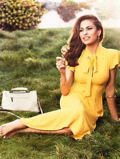 Shop Eva Mendes Collection - Gemma Tie-Front Dress . Find your perfect size online at the best price at New York & Company.