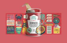 Maria mordvintseva food for thought #packaging #inspiration