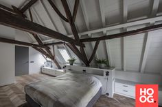 Luxe woonhuis - Hoog ■ Exclusieve woon- en tuin inspiratie. Farmhouse Renovation, House 2, Home Look, Design Projects, United Kingdom, Villa, Interior Design, Bedroom, Luxury