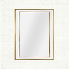 "Felicity Mirror at Arhaus. Felicity 28"" X 40"" Mirror In Gold SKU: 659040M0219 $99.00 SALE $89.10 Our Felicity Collection offers a simple, yet elegant mirror that easily complements any home. Choose from different shapes and sizes to accent your décor.  Dimensions: 28.25"" W X 1"" D X 40"" H"