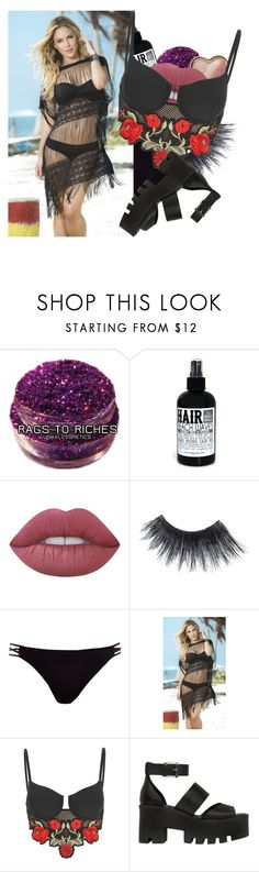 """Untitled #1252"" by b3thst ❤ liked on Polyvore featuring Too Faced Cosmetics, Lime Crime, MAKE UP FOR EVER, River Island, Jaded and Windsor Smith"