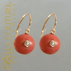Bella Couture® - SOLD! - Rare Gorgeous Antique Victorian Georgian Fine  18K Gold Carved Coral Earrings, $0.00 (http://www.bellacouture.com/sold-rare-gorgeous-antique-victorian-georgian-fine-18k-gold-carved-coral-earrings/)