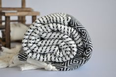 Turkish Cotton Towel  Black towel by Organictextiles4all on Etsy, $27.50