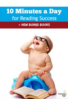 love this --> 10 minutes a day for reading success + new board books