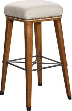 Windsor Bar Stool from the Suzanne Kasler® collection by Hickory Chair Furniture Co. Bar Stool Chairs, Counter Stools, Dining Room Furniture, Furniture Decor, Commercial Bar Stools, Hickory Chair, Restaurant Furniture, Decor Interior Design, Chair Design