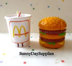Vintage McDonald's Happy Meal Toys Changeables by SunnyDaySupplies