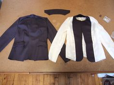 Probably the best tutorial I've ever read on how to line a jacket professionally and neatly!