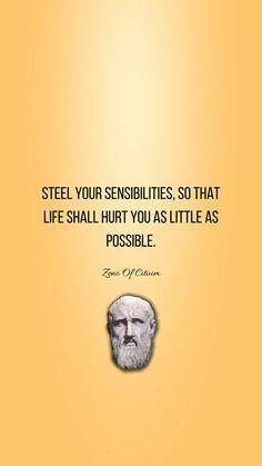 #Stoicism #ZenoOfCitium Wisdom Quotes, True Quotes, Book Quotes, Words Quotes, Sayings, Smart Quotes, Daily Quotes, Stoicism Quotes, Perspective Quotes