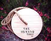 Round Tree Swing - Classic & Personalized Just For You and Your Family