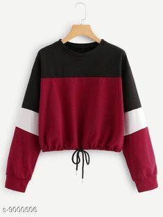 Sweatshirts  Tshirts Fabric: Cotton Sleeve Length: Long Sleeves Pattern: Printed Multipack: 1 Sizes: S XL L M Country of Origin: India Sizes Available: S, M, L, XL   Catalog Rating: ★4 (8538)  Catalog Name: Urbane Ravishing Women sweatshirts CatalogID_1552808 C79-SC1028 Code: 143-9000506-309