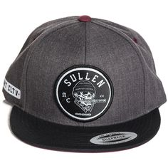 Inked Boutique - Switchblade Snapback Hat (Also available in a black trucker hat!) Skull Knife Tattoo Art Lifestyle Brand  www.inkedboutique.com