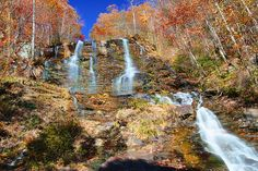 Amicola Falls near Blue Ridge, GA...would love to go again and take the kids to the Hike Inn.
