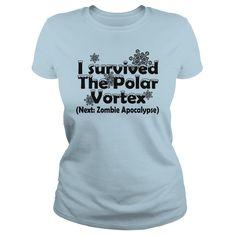 I survived The Polar Vortex Next Zombie Apocalypse T Shirt T-Shirts, Hoodies, Sweaters