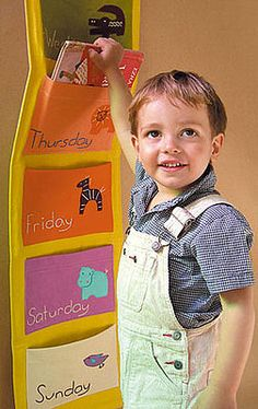 Pimp Your Crib: Zid Zid Kids Days of the Week
