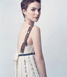 Unbearably Cute Pixie Hairstyles: Natalie Portman Style