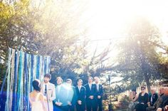 DIY Streamers (Christina Richards Weddings)