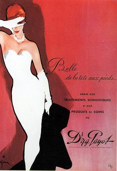 Fashion Illustrations by René Gruau (1909 - 2004) http://www.flickr.com/photos/likeabalalaika/3593117064/in/photostream/