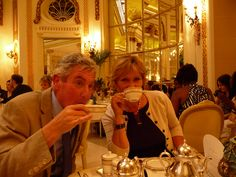 Tea at the Ritz darling?