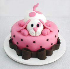 Puppies, Dogs Birthday Party Ideas | Dog birthday cakes, Amazing ...