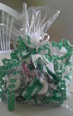 """Make """"Mint Bags."""" Thanks for your commit-""""mint"""" to help. Thanks for your encourage-""""mint"""". Thanks for your involve-""""mint"""". Thanks for your invest-""""mint"""" of time. Thanks for making each day an enjoy-""""mint"""". Thanks for helping to create a nice environ-""""mint"""". Everything you have done has really """"mint"""" a lot to me.-"""