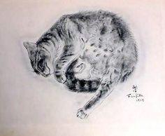 A Book of Cats - Tsuguharu Foujita -
