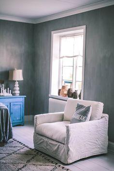 Kalklitir Emma Interior Inspo, Living Room, Interior, Grey