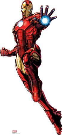 Iron Man - Marvel Avengers Assemble Lifesize Standup Cardboard Cutouts at AllPosters.com