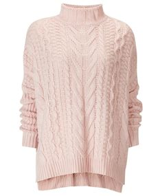 Gina Tricot - Theresa knitted sweater Soft pink (3055)
