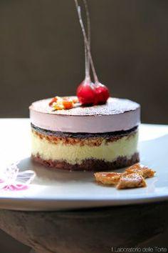 Rapsodia all'Amarena, un dessert al cucchiaio | Il Laboratorio delle Torte