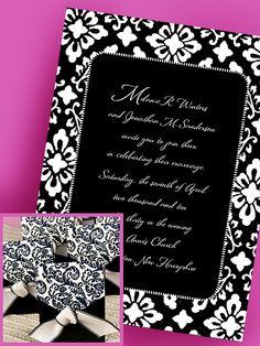 Damask Wedding Ideas | ... White Damask Wedding Invitations - Invitation Ideas - Invitation Ideas