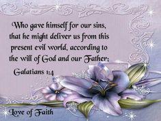Galatians 1:4 KJV