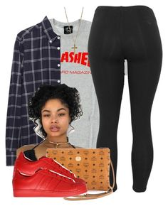"""Untitled #515"" by princess-miyah ❤ liked on Polyvore featuring Band of Outsiders, Dorothy Perkins, MCM and adidas Originals"
