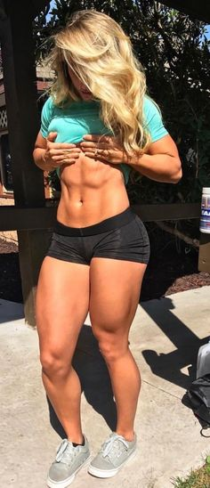 Great Abs www.OnlyRippedGirls.Com