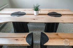 Table from Grandma's Hayloft - Puuartisti Conference Table, Solid Wood, Bench, Dining Table, Interior Design, Furniture, Home Decor, Nest Design, Decoration Home