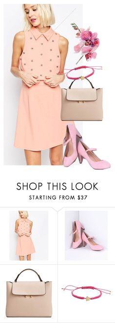 """""""dress"""" by masayuki4499 ❤ liked on Polyvore featuring ASOS, MANGO and Marc by Marc Jacobs"""