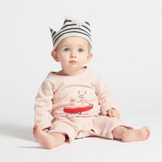 Restocking indigo stripe crown 👑 Everyone deserves a crown for their special days and this cute, retro romper stands out in stripes.👻0-3Y / 3-6Y eversimplicity.com
