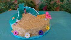 Baby Moana wave cake