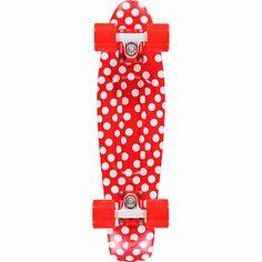 Penny Original Polka Dot Red & White 22 Cruiser Complete Skateboard