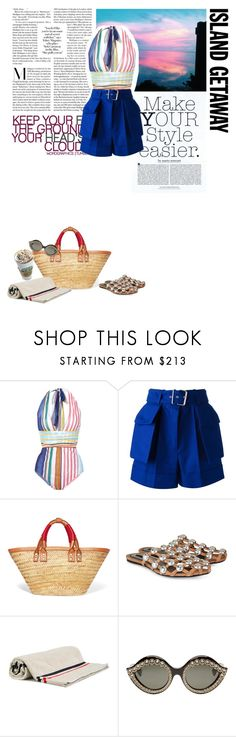 """""""BUENOS AIRES"""" by onemorepose ❤ liked on Polyvore featuring Zimmermann, Missoni Mare, Alexander McQueen, Balenciaga, Alexander Wang, Moncler, Gucci and islandgetaway"""