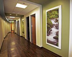 Custom acrylic for medical office