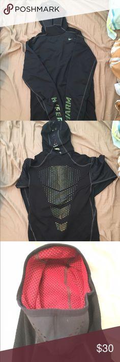Nike HyperWarm Max Shield + Herron Hoodie Nike HyperWarm Max Shield + Herrin Hoodie. Size: Boys Medium or Women's XS. Barely used. Nike Shirts & Tops Sweatshirts & Hoodies