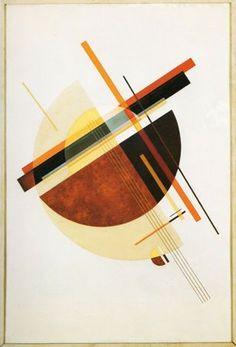 Composition - Félix Del Marle #abstractart