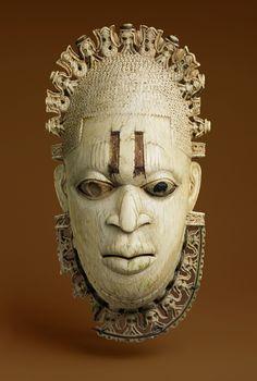 https://flic.kr/p/JELeoW | African Ivory Pendant Mask, 16th century (The Met…