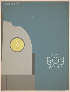 BROTHERTEDD.COM - minimalmovieposters:   The Iron Giant by Steve...