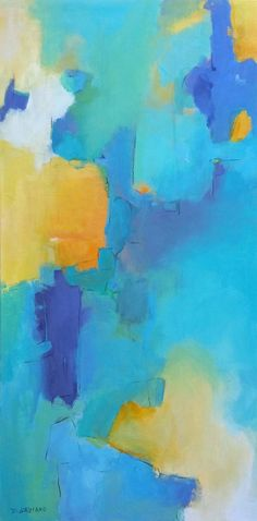 "Saatchi Art Artist Dorothy Gaziano; Painting, ""Calm #1"" #art"