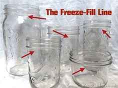 Freeze-fill line for freezing stock in mason jars!