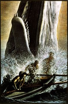 "Mark Summers - Workbook Illustration Portfolio. Incredible art for the Barnes & Noble  ""Moby Dick"" — I have admired this edition and his art for years."