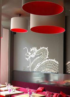 Mehrfarbige Lampenschirme , bespannt mit den hochwertigsten Materialien Interior Design, Home Decor, Contemporary Lamp Shades, Nest Design, Decoration Home, Home Interior Design, Room Decor, Home Interiors, Apartment Design