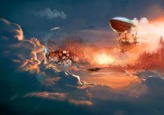 Burning Clouds by Kureiyah
